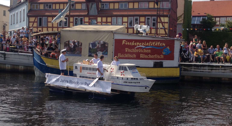 Teilnahme am Badewannenrennen 09.08.2014